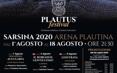 Plautus Festival 2020 – The classic under the stars for 60 years